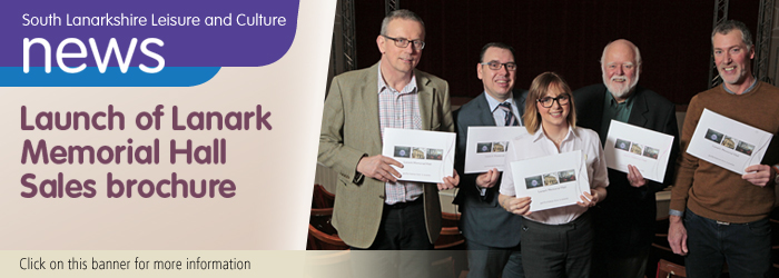 Lanark Memorial Hall Launch new Business Brochure