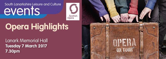 Opera Highlights at Lanark Memorial Hall, South Lanarkshire
