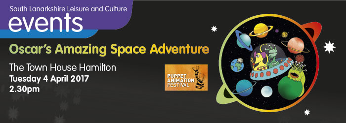 Oskar's Amazing Space Adventure, The Town House Hamilton, South Lanarkshire