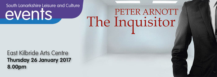 The Inquisitor, East Kilbride Arts Centre, South Lanarkshire