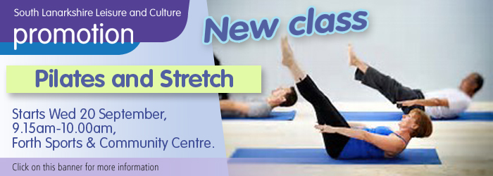 Pilates and Stretch at Forth Sports / Community Centre