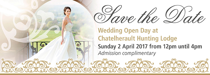 Weddin Open Day - save the date, Chatelherault Country Park, Hamilton, South Lanarkshire