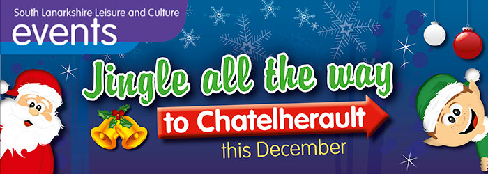 Jingle all the way to Chatelherault 29 Nov - 24 Dec 2018 various times cost dependent on activity Chatelherault Country Park