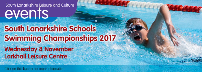 South Lanarkshire Schools Swimming Championships 2017