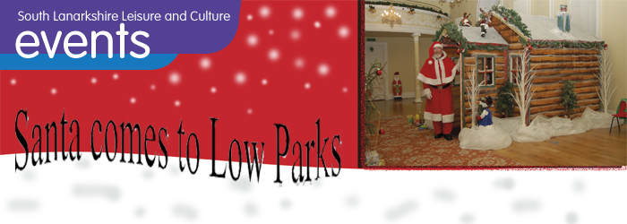 Breakfast with Santa at Low Parks Museum, hamilton, South Lanarkshire