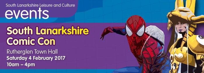 South Lanarkshire Comic Con, Rutherglen Town Hall, South Lanarkshire