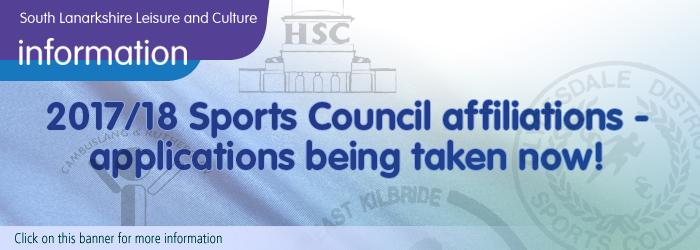 2017-18 Sports Council Affiliations