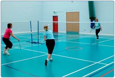 Sports halls