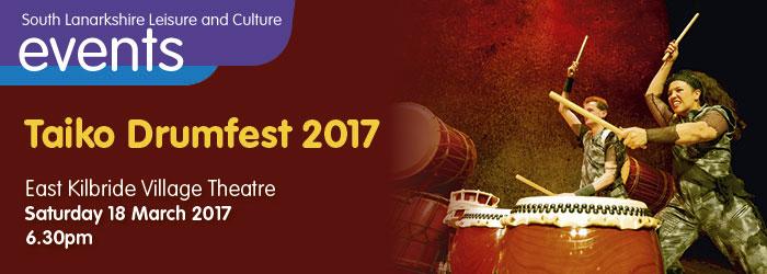 Taiko Drumfest, Village Theatre East Kilbride, South Lanarkshire