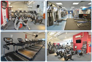 The Gym at the Dollan Aqua Centre