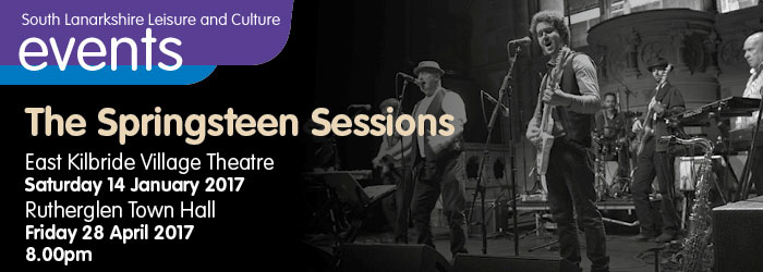 The Springsteen Sessions, Rutherglen Town Hall, South Lanarkshire
