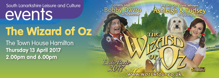 Wizard of Oz, The Town House Hamilton, South Lanarkshire