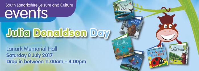 Julia Donaldson Day, Lanark Memorial Hall, Lanark, South Lanarkshire,