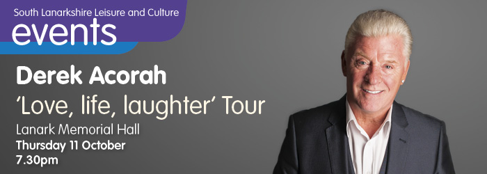 Derek Acorah - 'Love, Life, Laughter' Tour
