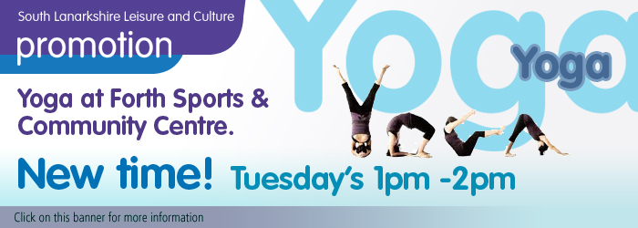 Yoga at Forth Sports and Community Centre
