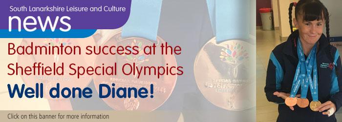 Medal Winner Diane Gillan
