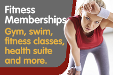 Fitness Memberships, Gym, Swim, Fitness Classes, Health Suite and more.