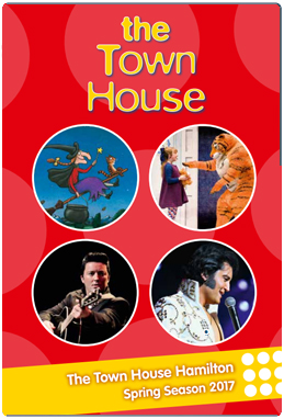 Download the Town House, Hamilton events brochure.