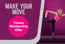 Fitness Memberships with South Lanarkshire Leisure and Culture promotion - Make Your Move