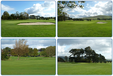 Biggar Golf Course.