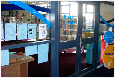 South Lanarkshire Leisure and Culture's Biggar Library.