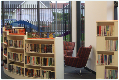 Blackwood and Kirkmuirhill Community Wing Library, from South Lanarkshire Leisure and Culture.