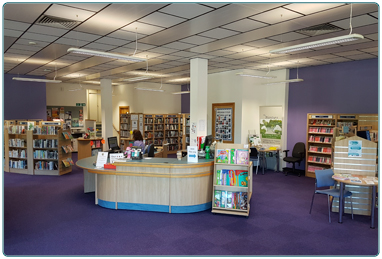 Blantyre Library from SLLC