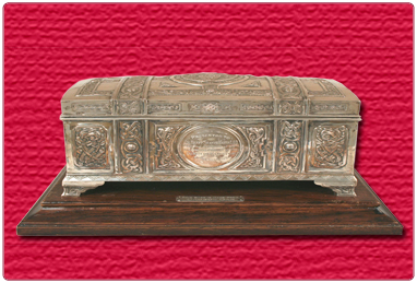 Freedom of the Burgh of Hamilton casket