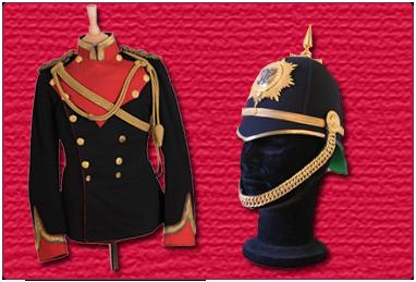 Lanarkshire Yeomanry Tunic and Helmet