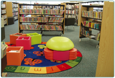 South Lanarkshire Leisure and Culture, Larkhall Library.