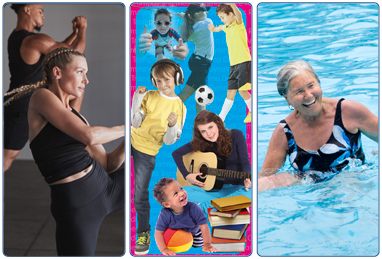 Membership from South Lanarkshire Leisure and Culture, Fitness Membership, ACE Membership, Tiny ACE, Golf, Swimming and Swim Lessons