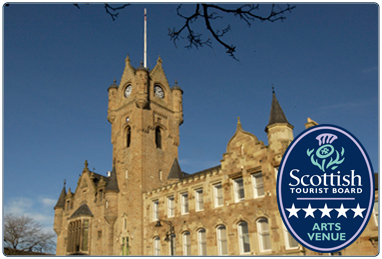 Rutherglen Town Hall South Lanarkshire Leisure and Culture with the Scottish Tourist Board 5 Star Arts Venue award