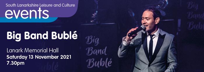 Big Band Buble Slider image