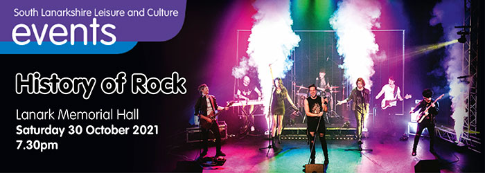 History of Rock at Lanark Memorial Hall Slider image