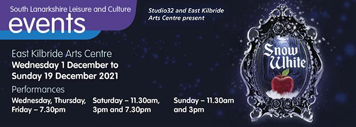 Snow White at East Kilbride Arts Centre Slider image