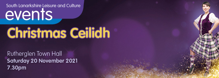 Christmas Ceilidh at Rutherglen Town Hall Slider image