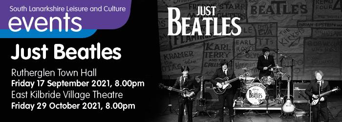 Just Beatles at Rutherglen Town Hall Slider image