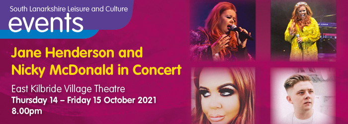 Jane Henderson and Nicky McDonald in concert