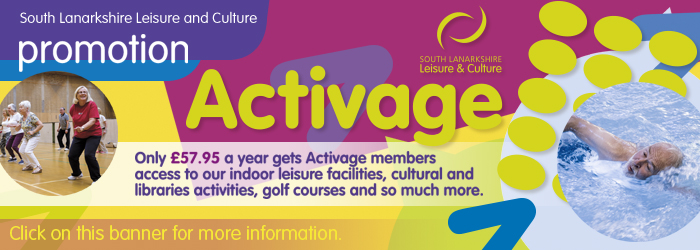Activage with South Lanarkshire Leisure and Culture Slider image