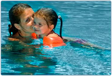 Image forFamily swim bookings