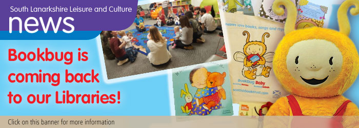 Bookbug is back in our libraries!