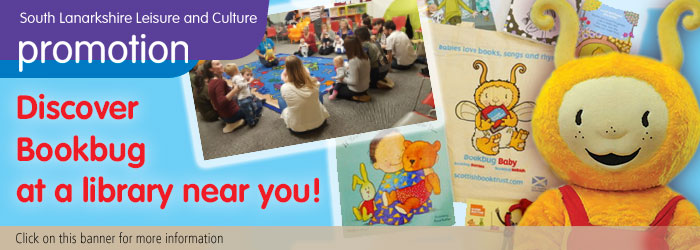 Discover Bookbug at a library near you! Slider image