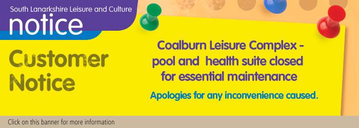Coalburn Leisure Complex Essential Maintenance