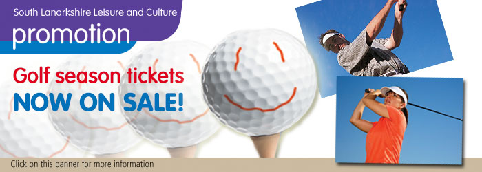 Golf Season Tickets now on sale!
