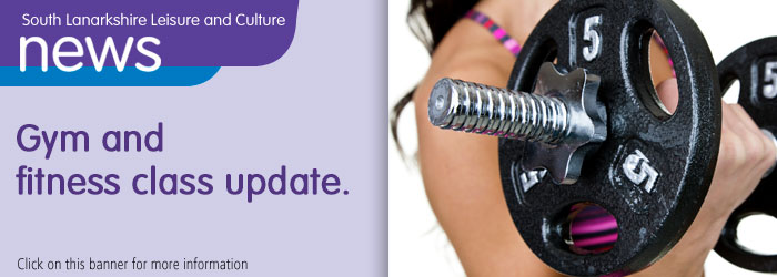 Gym and fitness class update Slider image