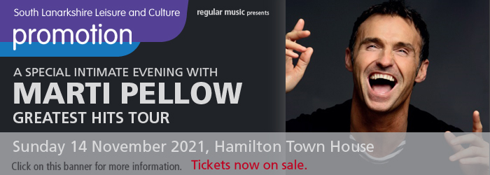Marti Pellow - Greatest Hits Tour Slider image