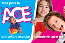 ACE summer activities at Lanark Memorial Hall