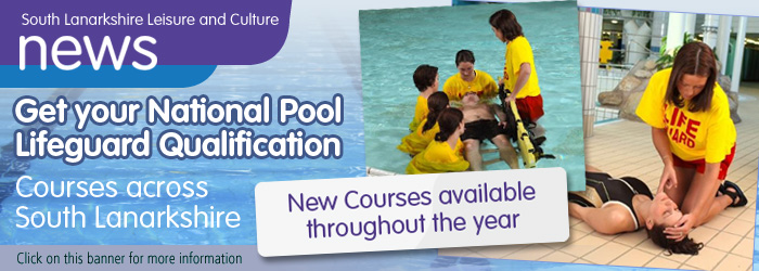 National Pool Lifeguard Qualification courses with South Lanarkshire Leisure and Culture Slider image