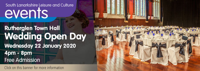 Wedding Open Day at Rutherglen Town Hall Slider image