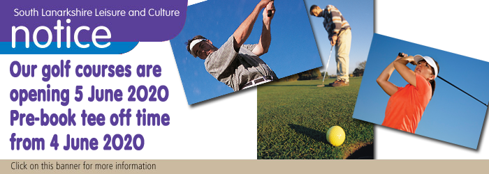 Golf courses opening on 5 June